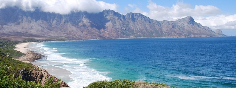 Coastal View of the Western Cape near Cape Town